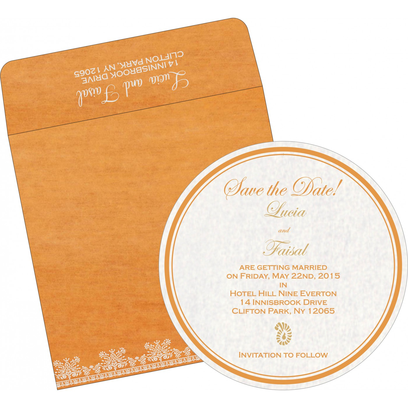 Save The Date : CSTD-8241H - IndianWeddingCards