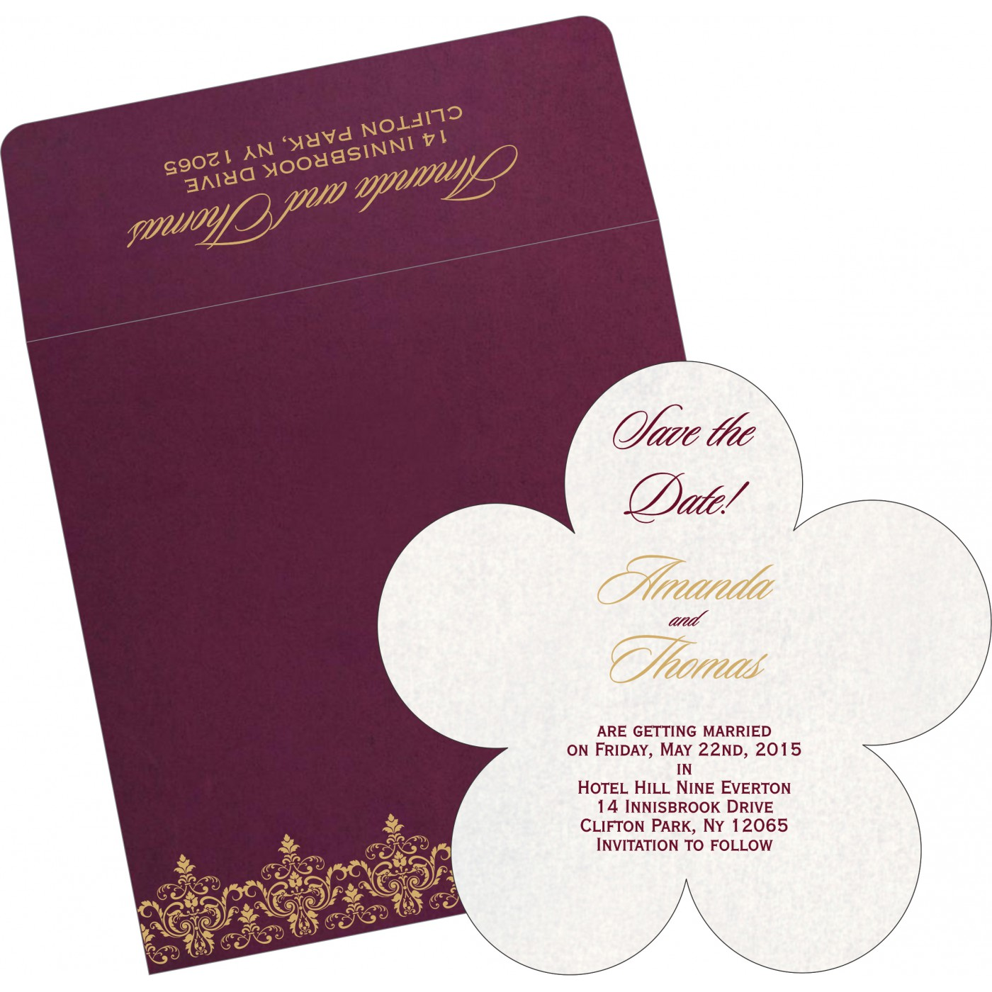 Save The Date : CSTD-8244H - IndianWeddingCards