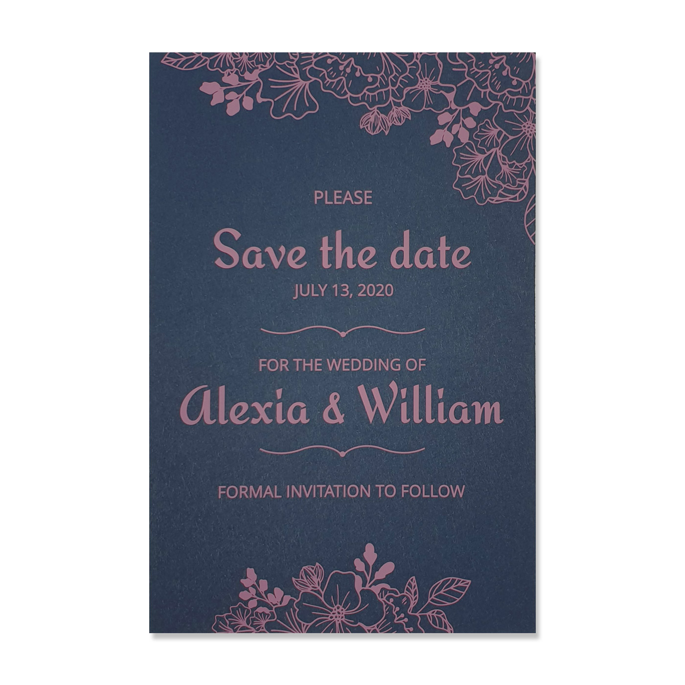 Save The Date : CSTD-BLOOM - IndianWeddingCards