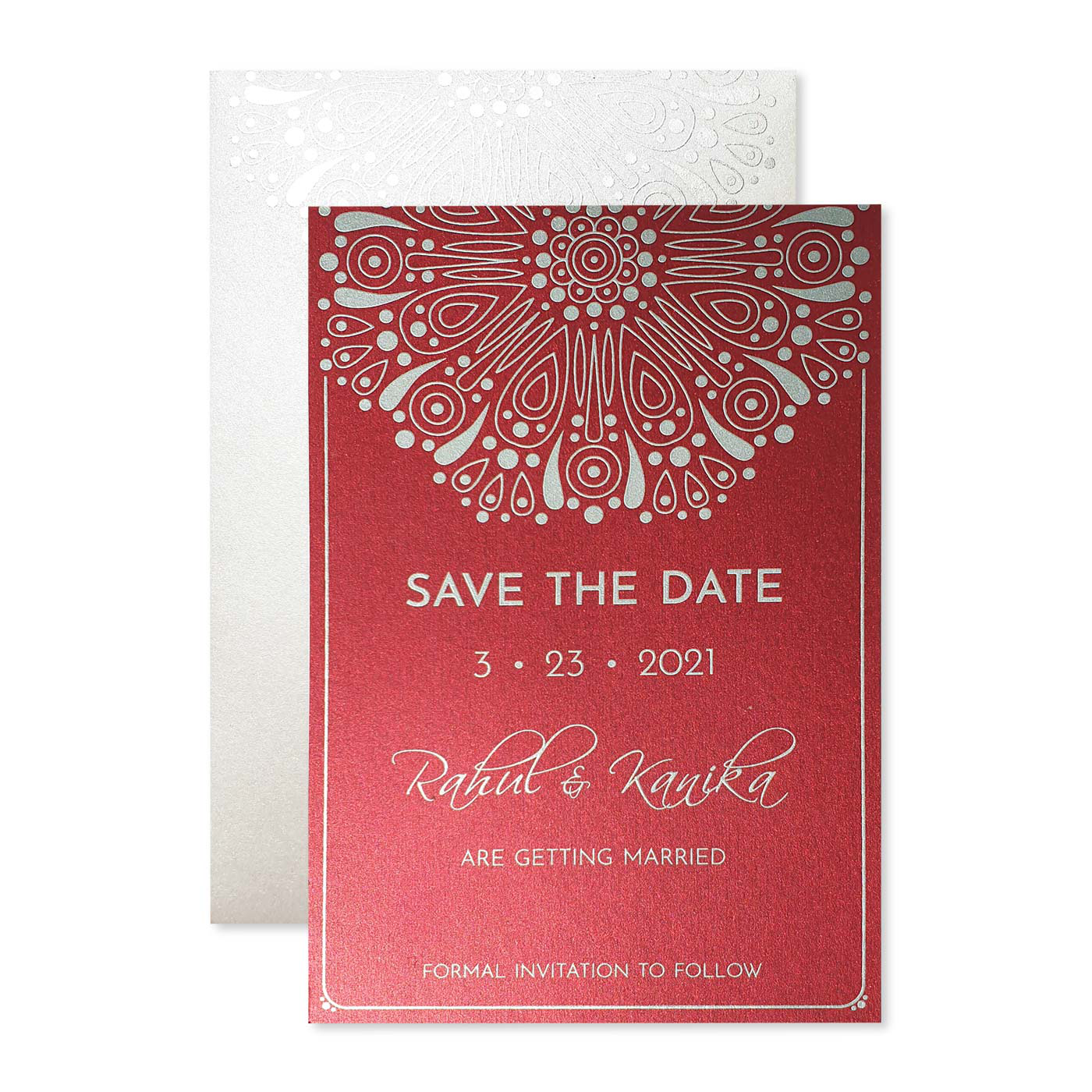 Save The Date : CSTD-CHERRY_CRUSH - IndianWeddingCards