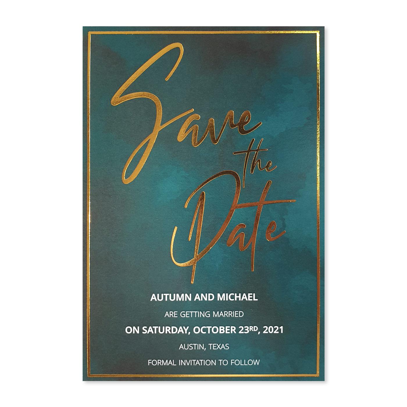 Save The Date : CSTD-DARK_DESIRE - IndianWeddingCards
