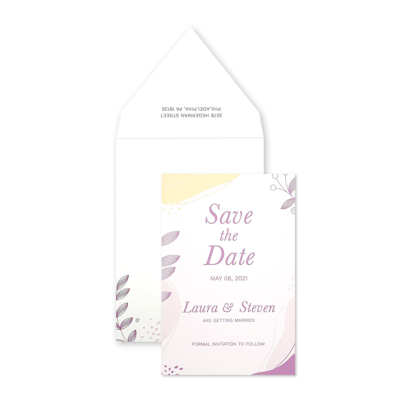 Save The Date : CSTD-FLORIDA_WAVES - IndianWeddingCards
