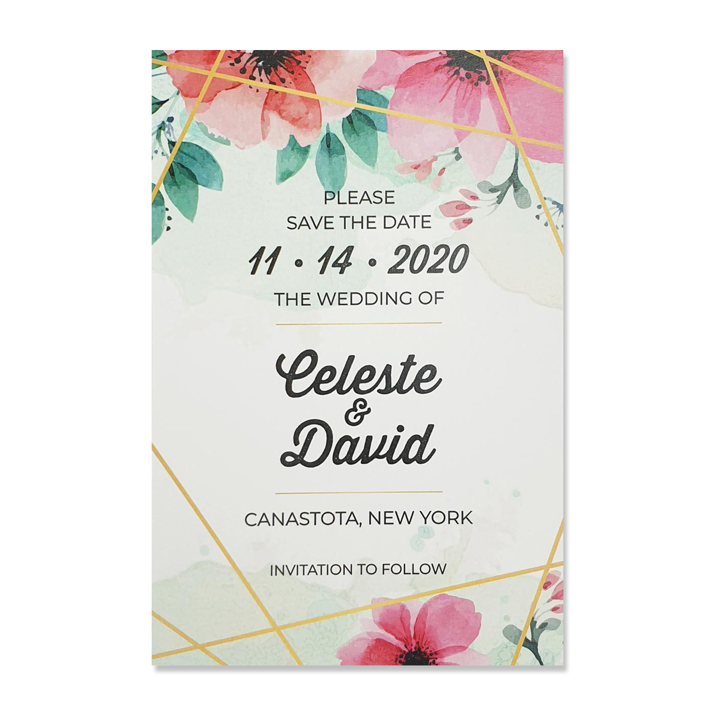 Save The Date : CSTD-GRASSLAND - IndianWeddingCards
