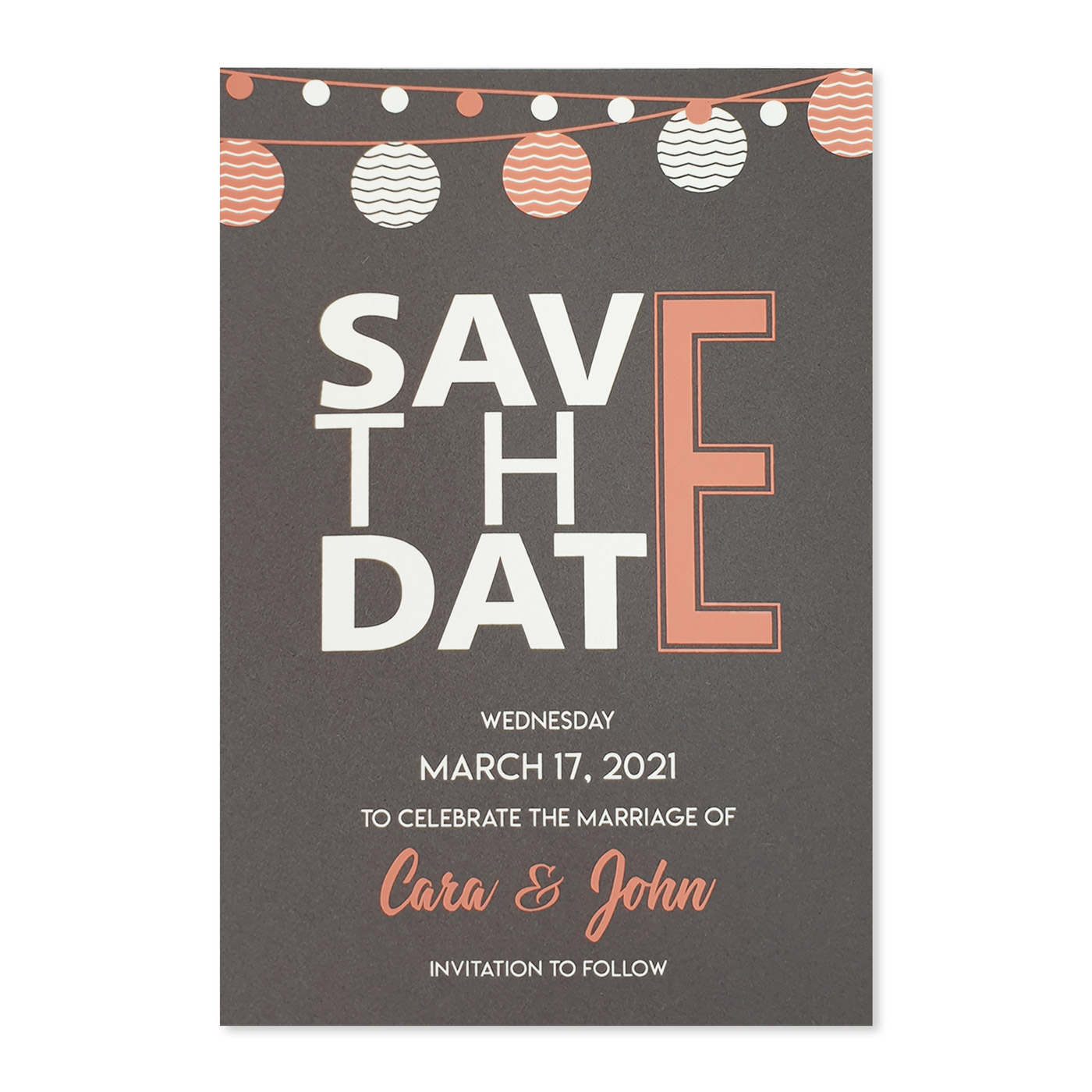 Save The Date : CSTD-TWINKLING_NIGHTS - IndianWeddingCards