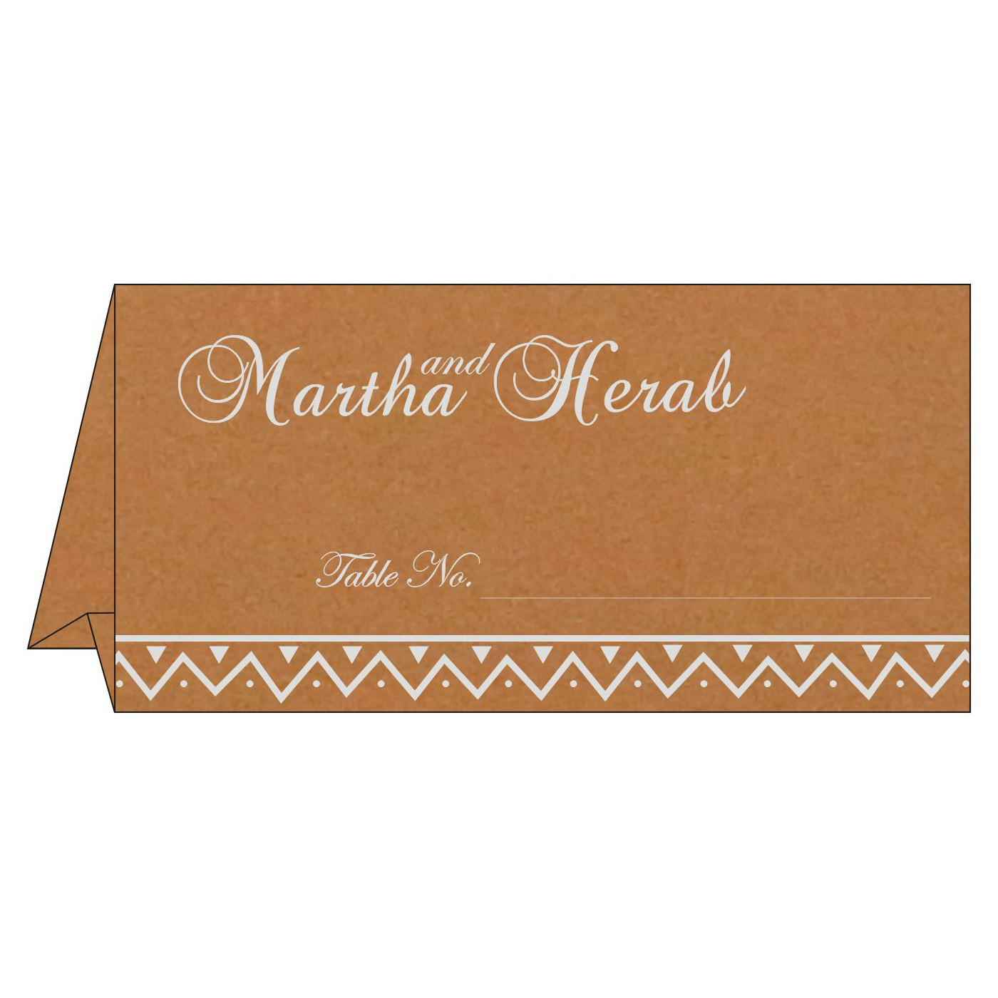 Table Cards : CTC-1178 - IndianWeddingCards