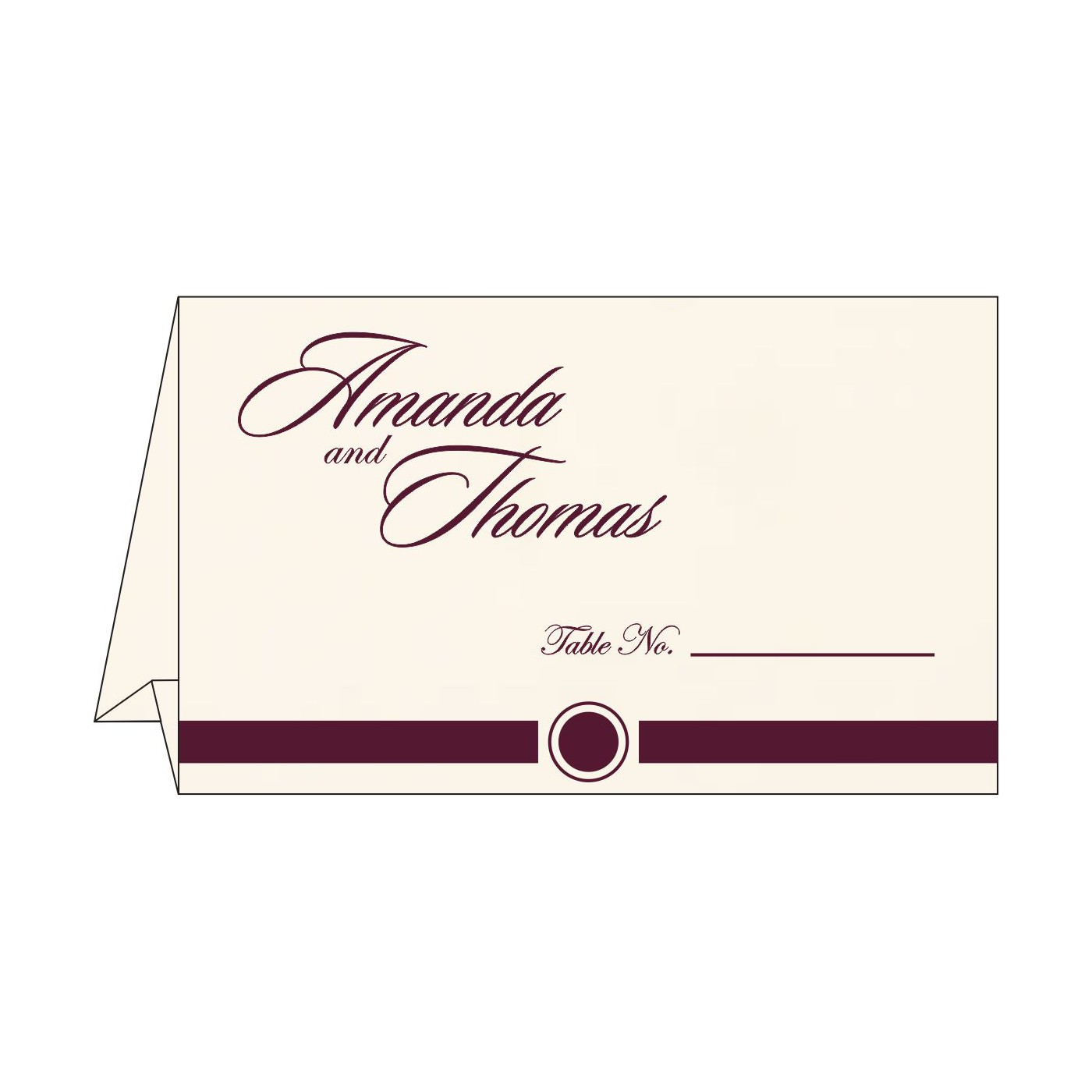 Table Cards : CTC-1204 - IndianWeddingCards
