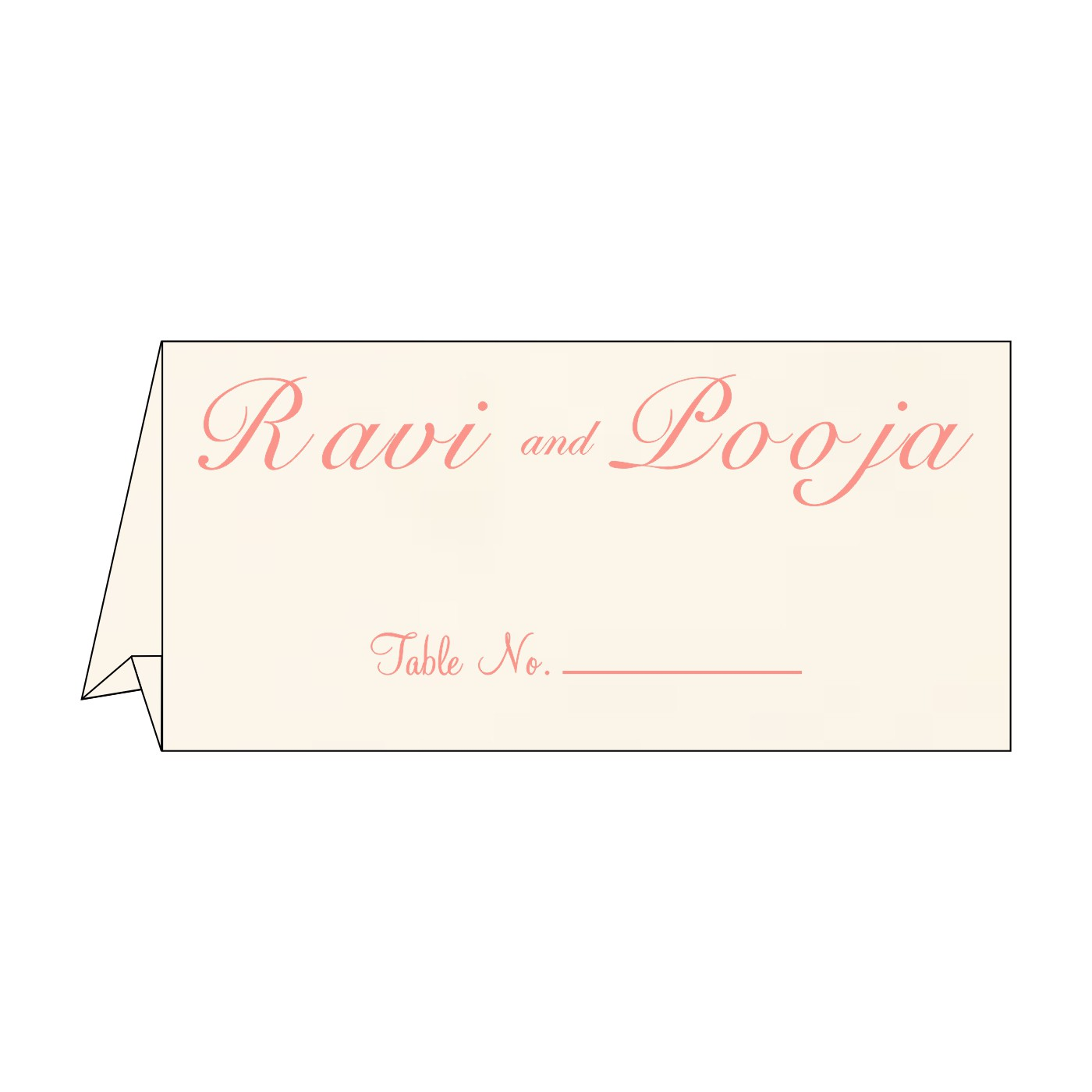 Table Cards : CTC-1221 - IndianWeddingCards