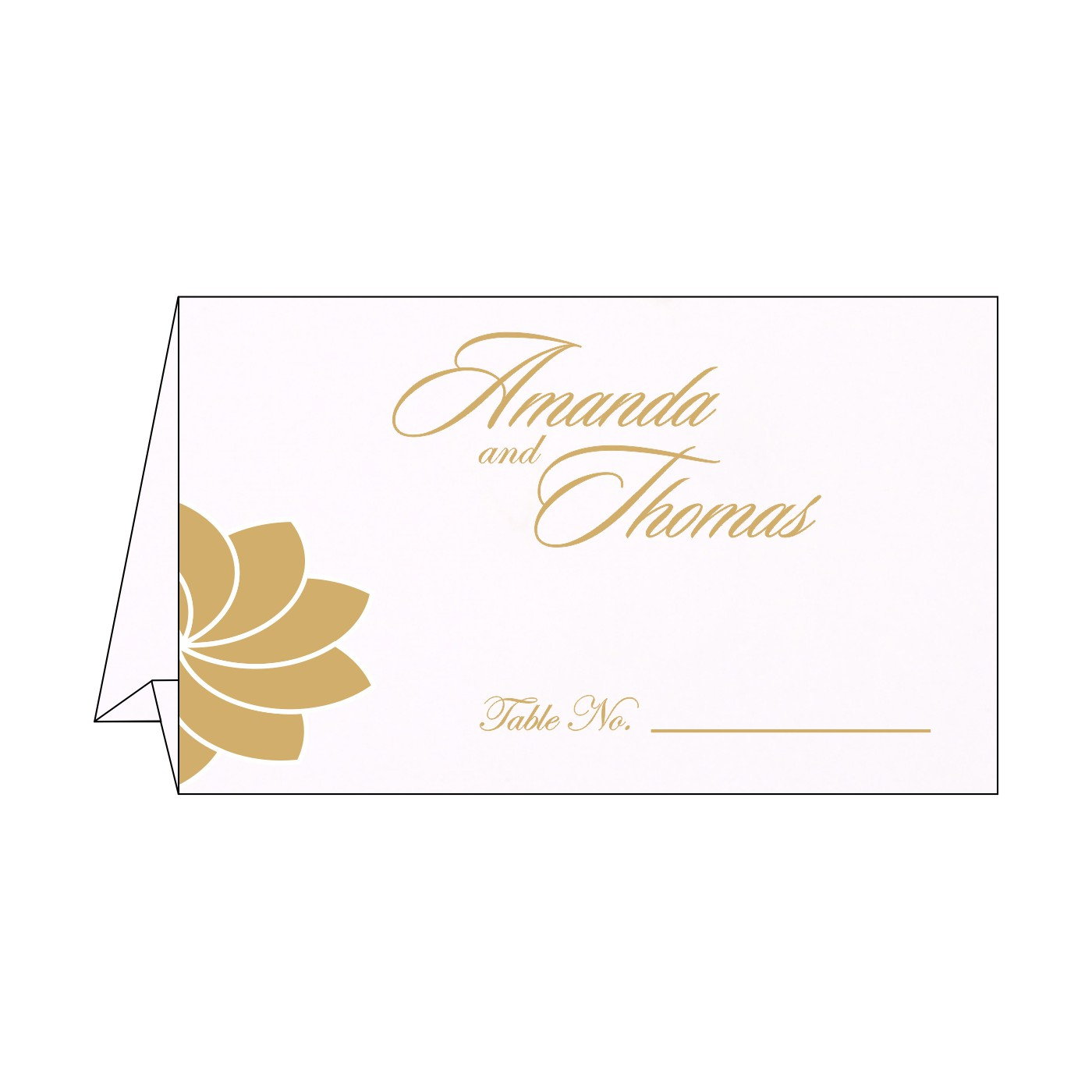 Table Cards : CTC-1228 - IndianWeddingCards
