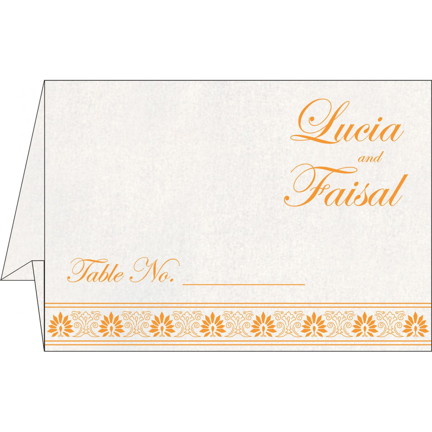 Table Cards : CTC-1296 - IndianWeddingCards