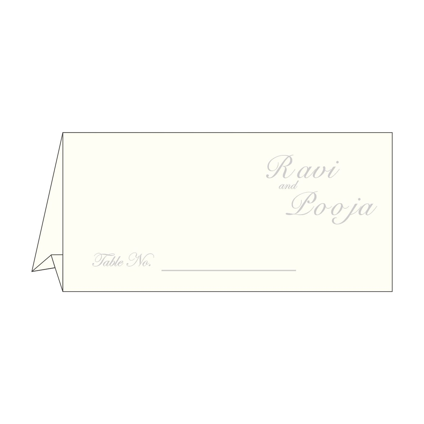 Table Cards : CTC-1325 - IndianWeddingCards