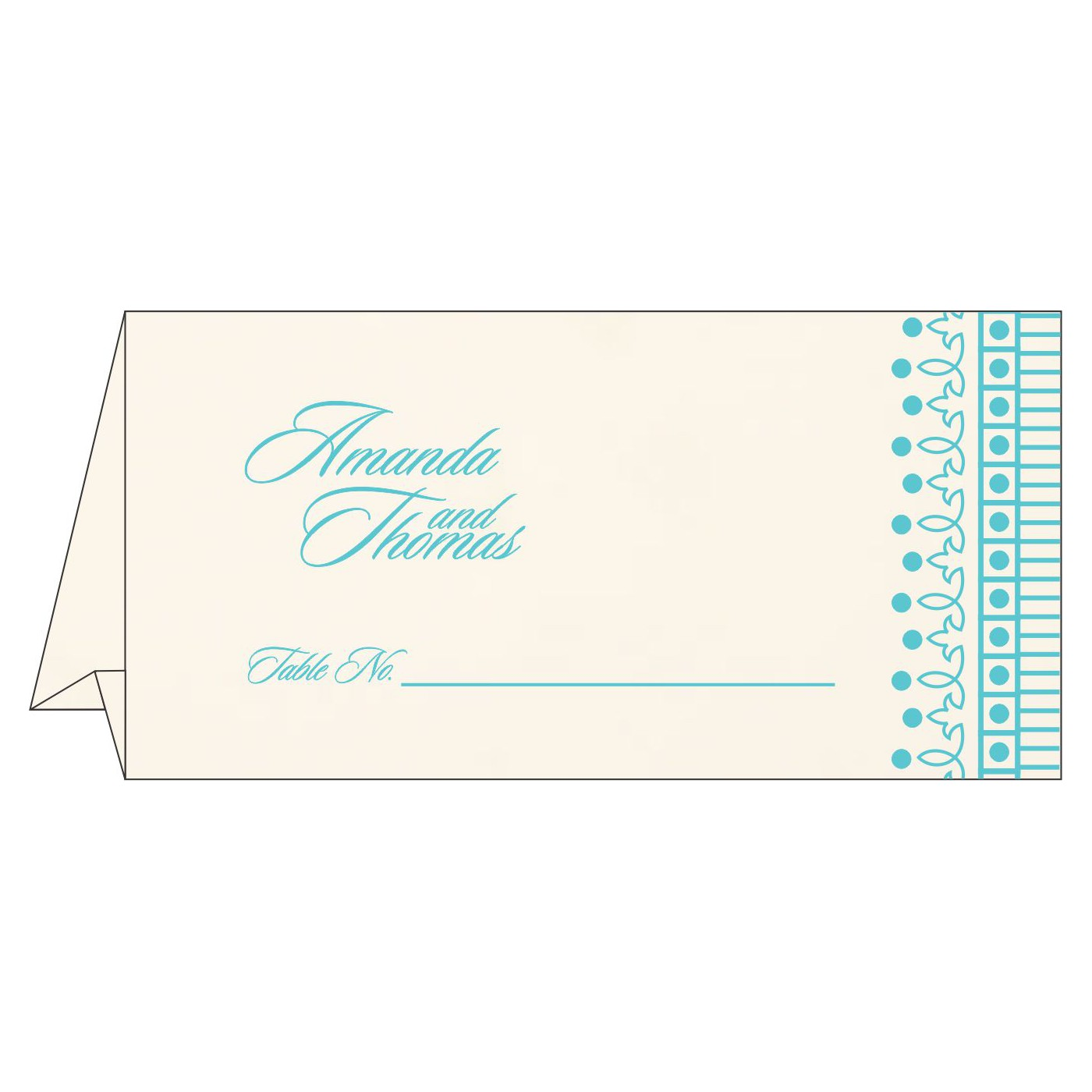 Table Cards : CTC-1338 - IndianWeddingCards