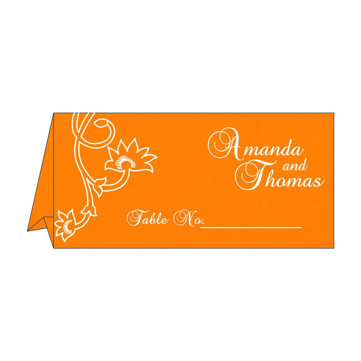 Table Cards : CTC-1346 - IndianWeddingCards