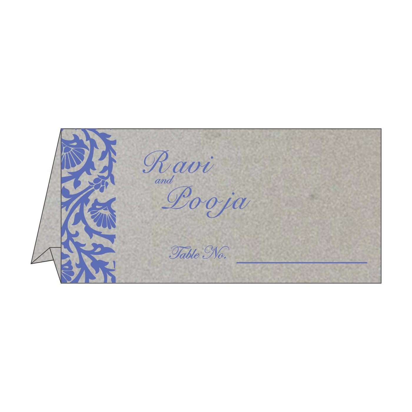 Table Cards : CTC-1371 - IndianWeddingCards