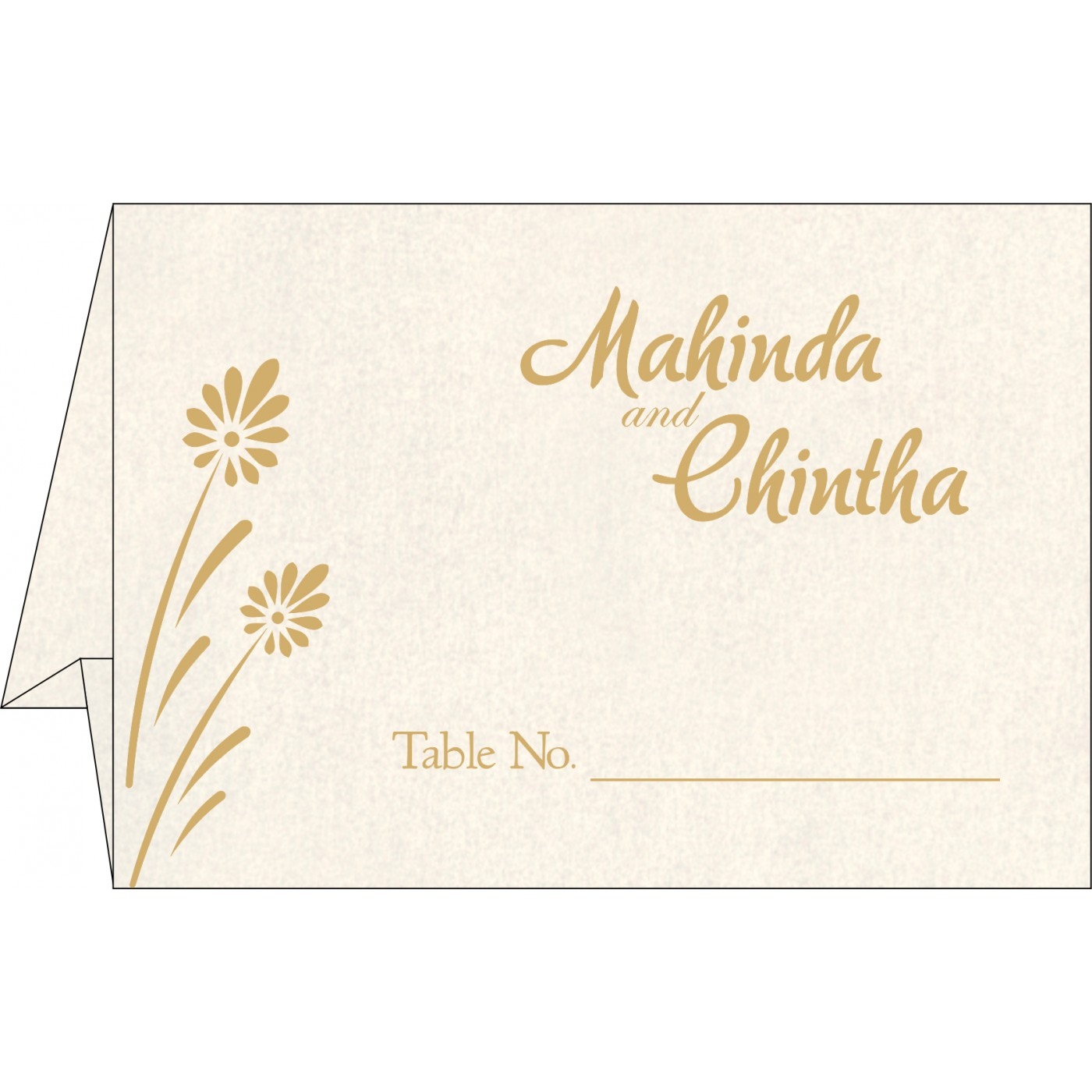 Table Cards : CTC-1372 - IndianWeddingCards
