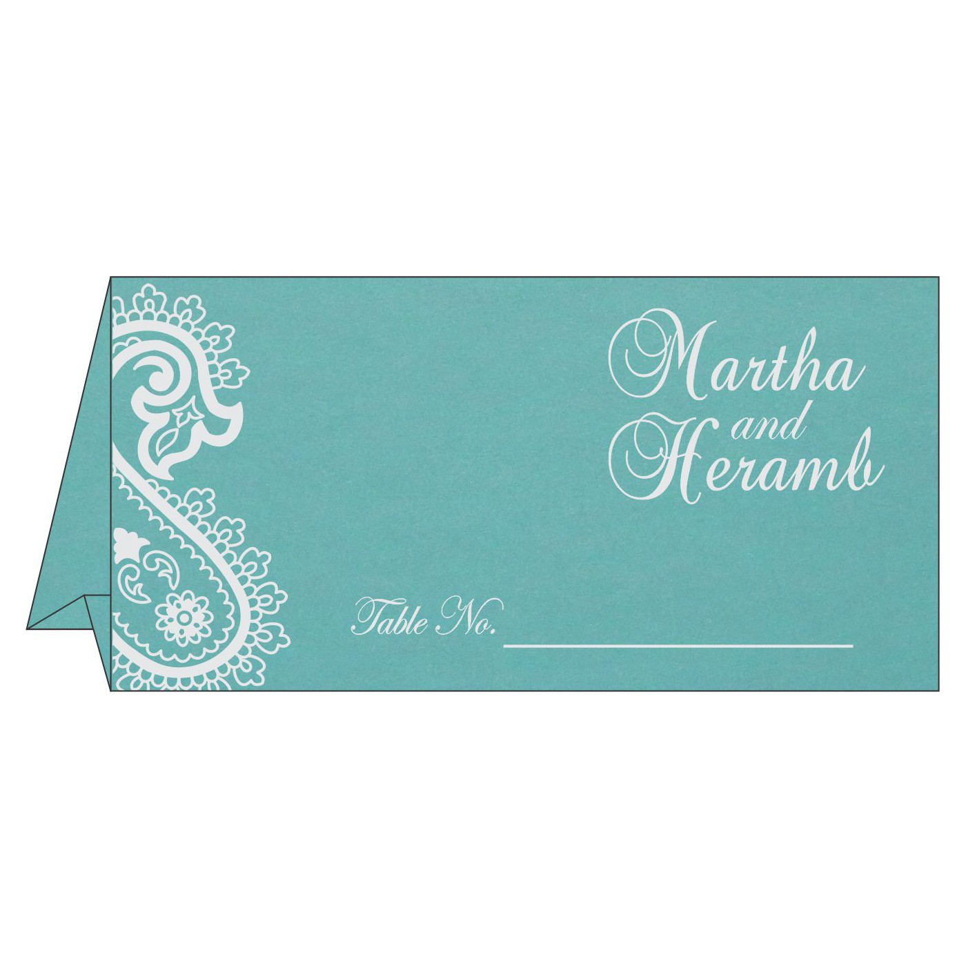 Table Cards : CTC-1382 - IndianWeddingCards