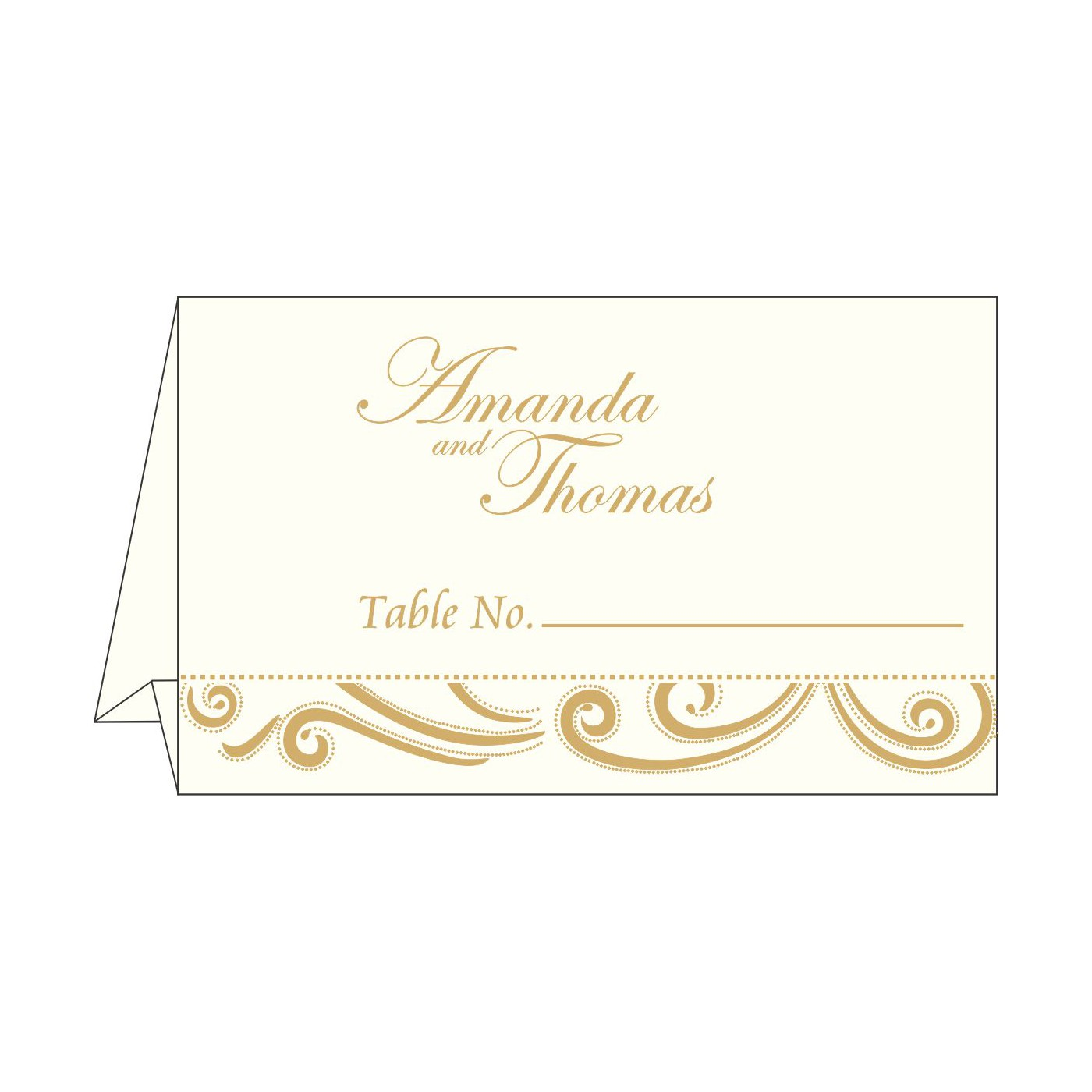 Table Cards : CTC-1389 - IndianWeddingCards