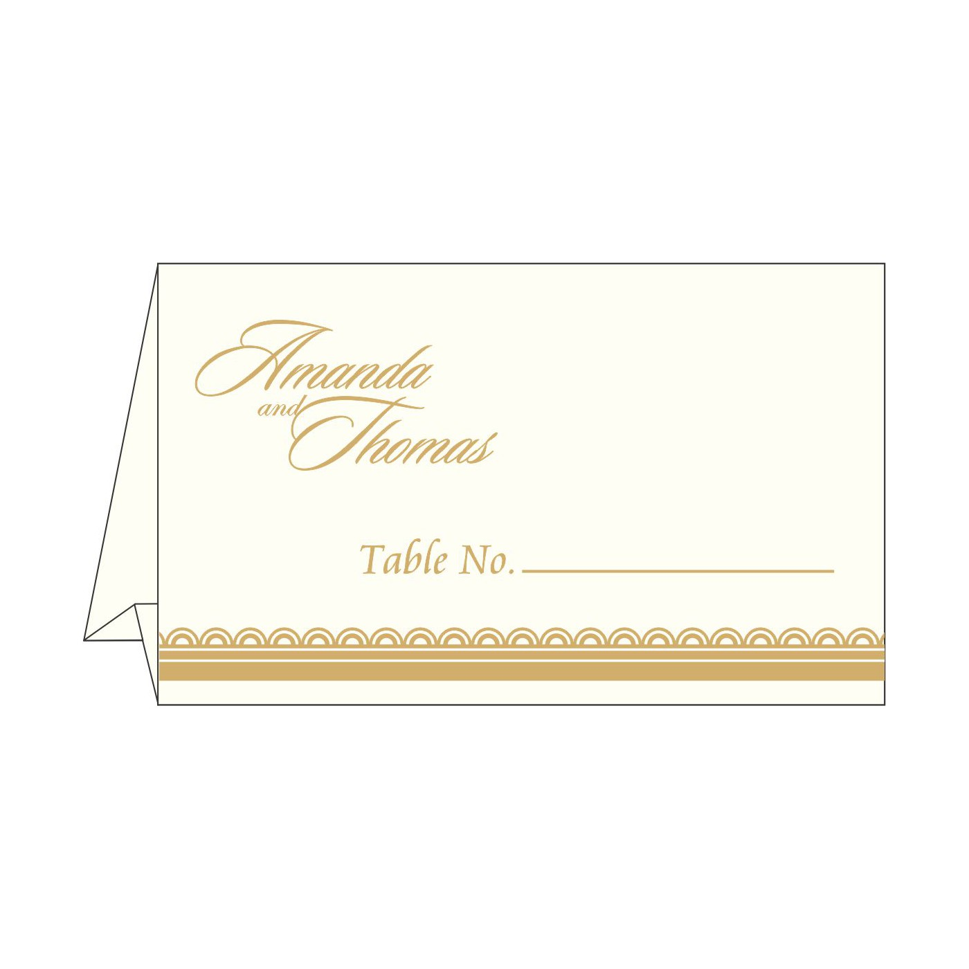 Table Cards : CTC-1402 - IndianWeddingCards