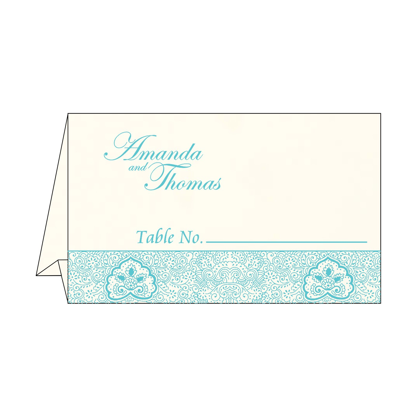 Table Cards : CTC-1410 - IndianWeddingCards