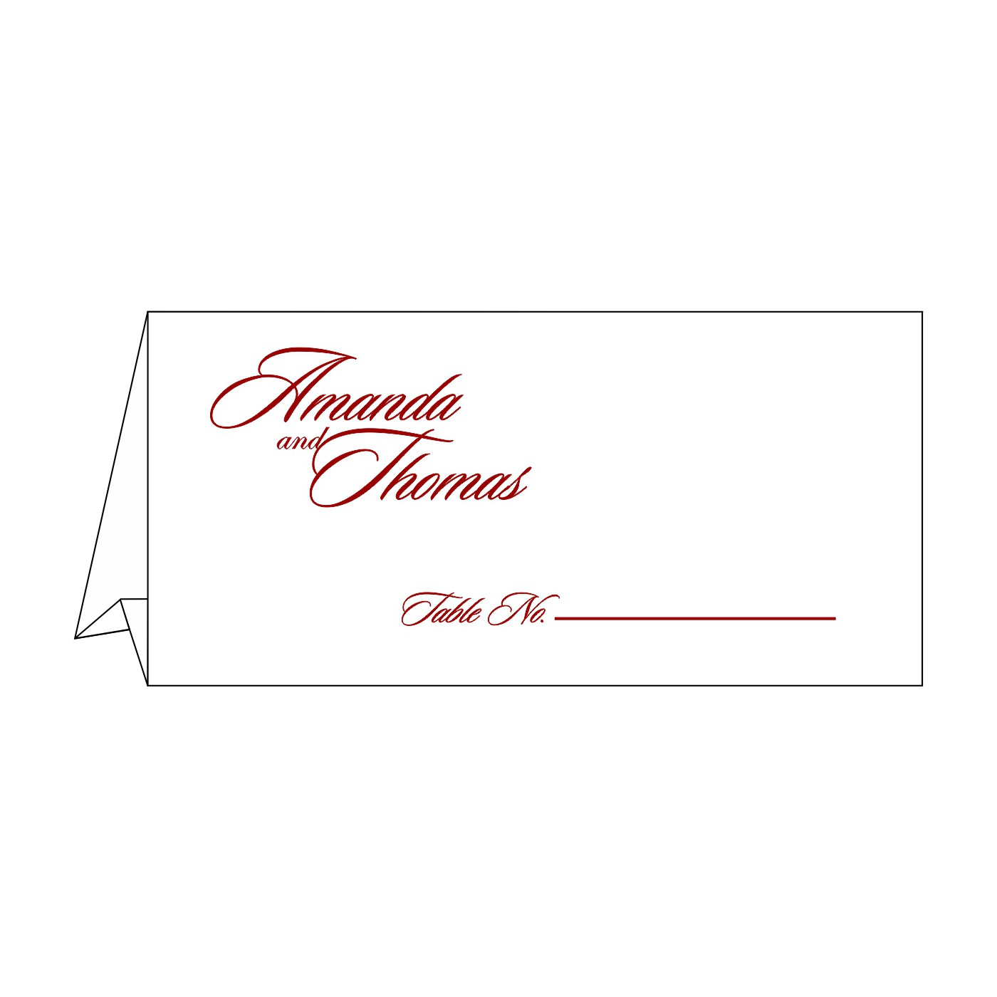 Table Cards : CTC-1427 - IndianWeddingCards