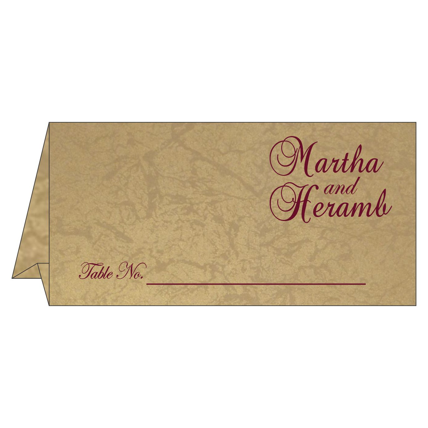 Table Cards : CTC-1440 - IndianWeddingCards