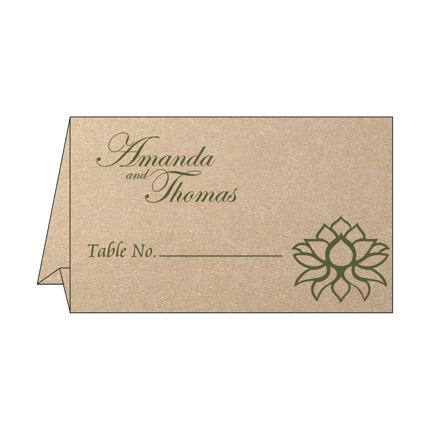 Table Cards : CTC-1449 - IndianWeddingCards