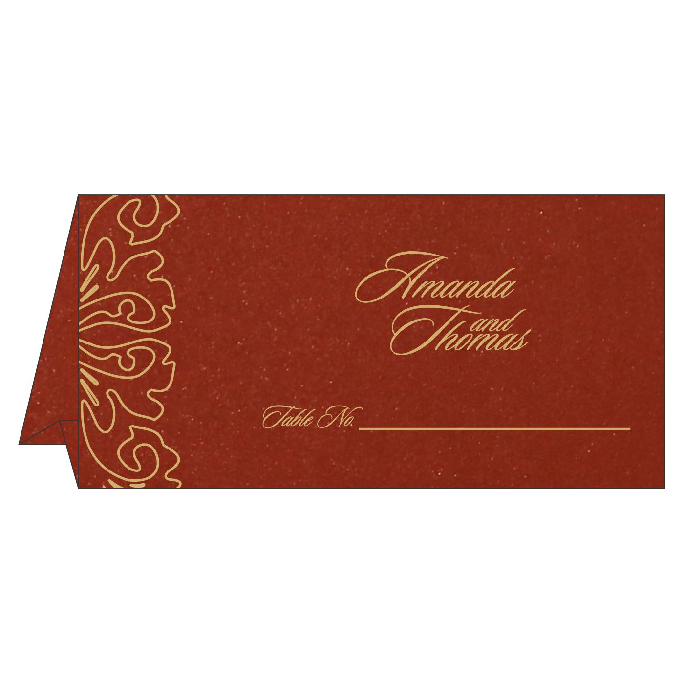Table Cards : CTC-1465 - IndianWeddingCards