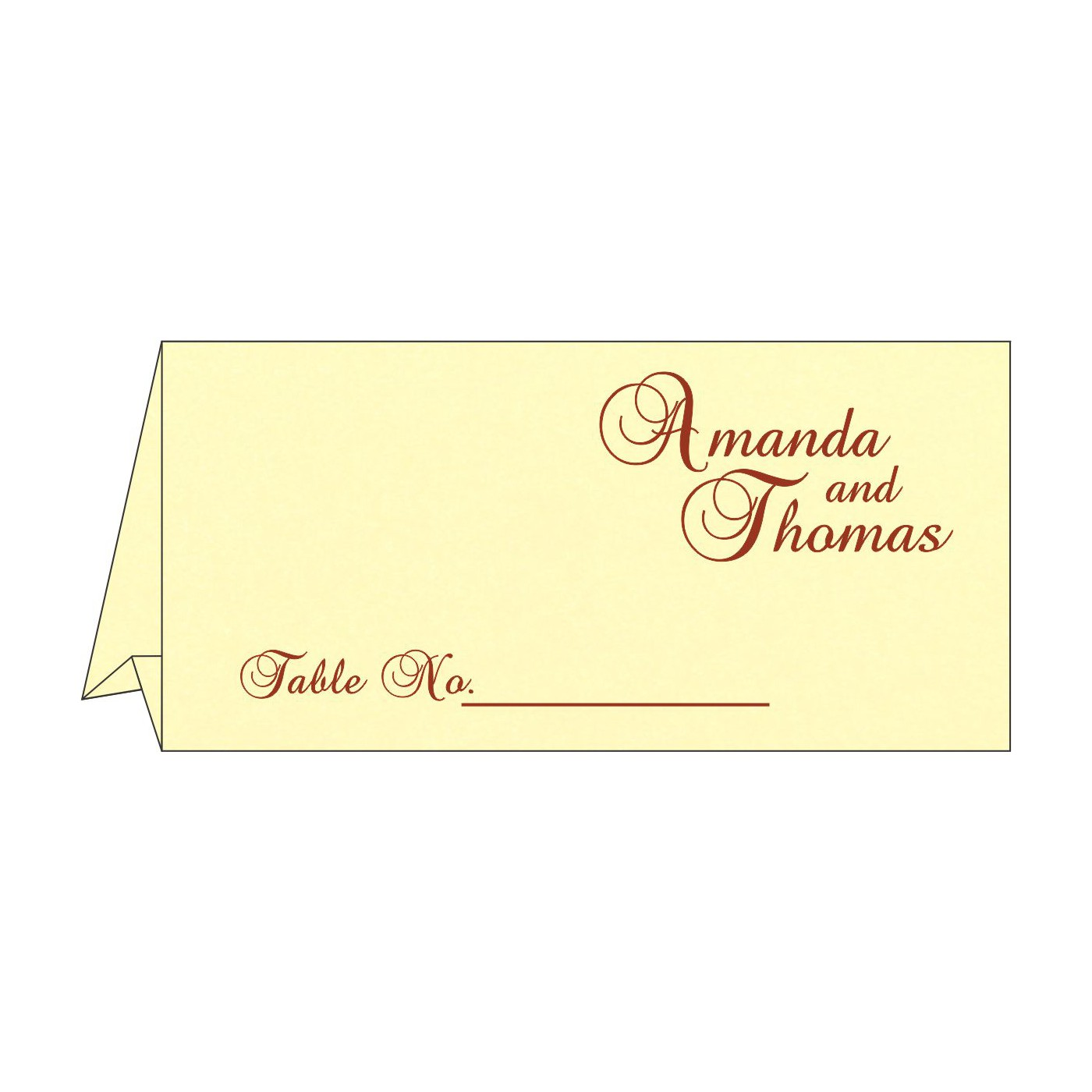 Table Cards : CTC-1471 - IndianWeddingCards