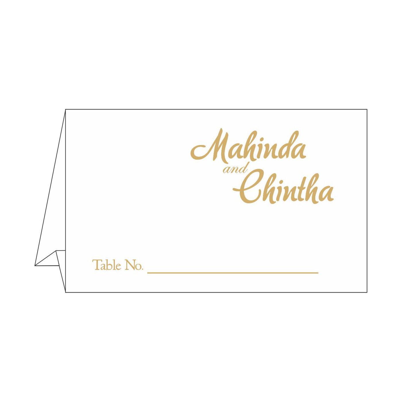 Table Cards : CTC-1495 - IndianWeddingCards