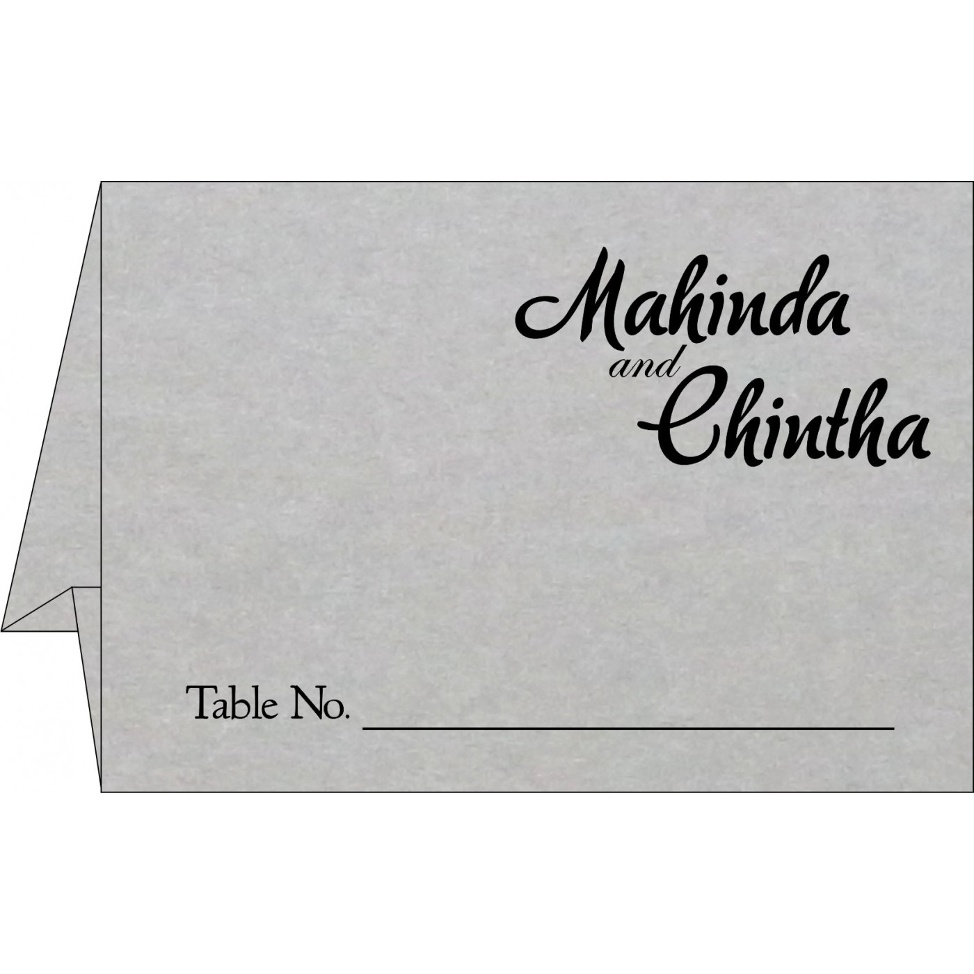 Table Cards : CTC-1498 - IndianWeddingCards