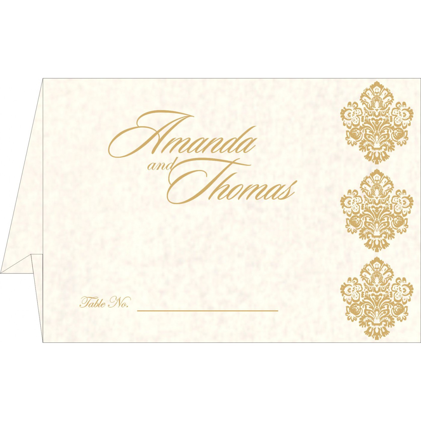 Table Cards : CTC-1508 - IndianWeddingCards