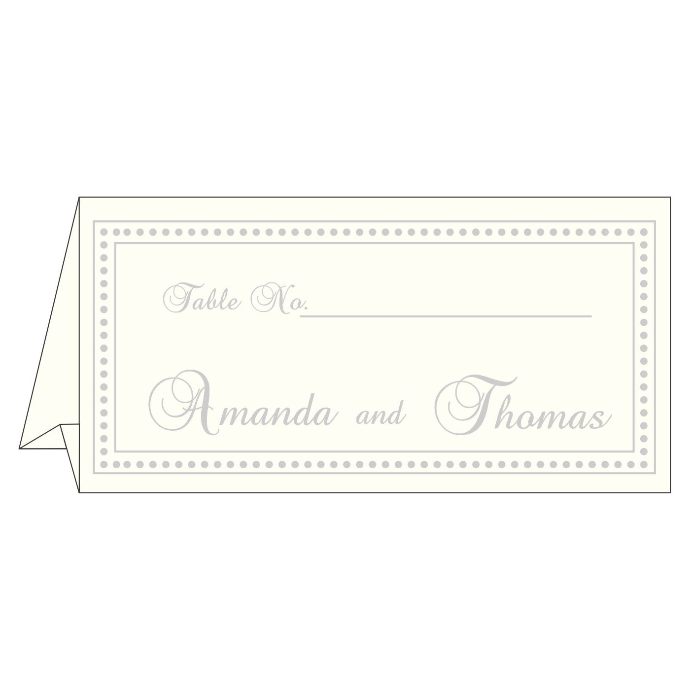 Table Cards : CTC-2015 - IndianWeddingCards