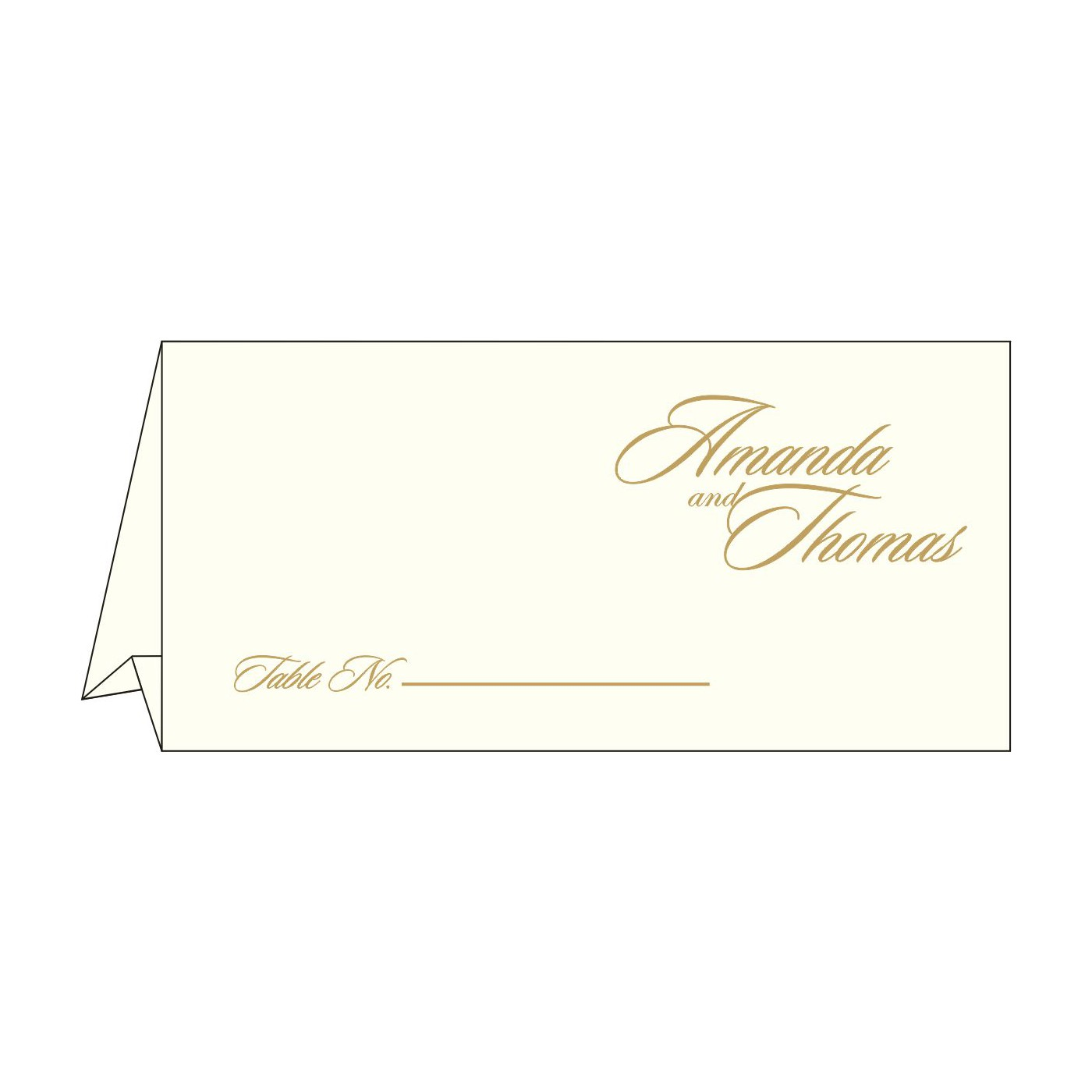 Table Cards : CTC-2169 - IndianWeddingCards