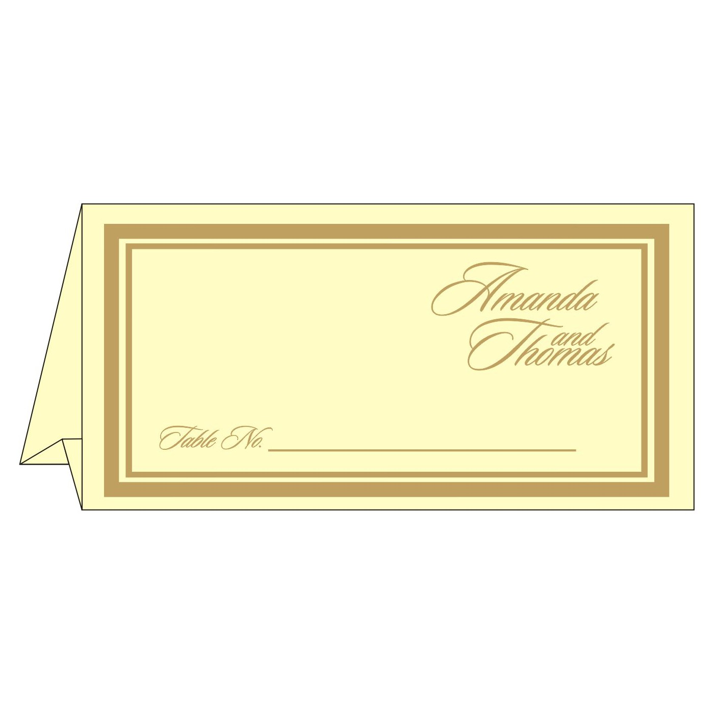 Table Cards : CTC-2191 - IndianWeddingCards