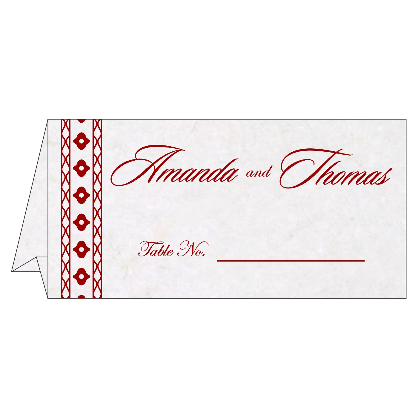 Table Cards : CTC-5001I - IndianWeddingCards