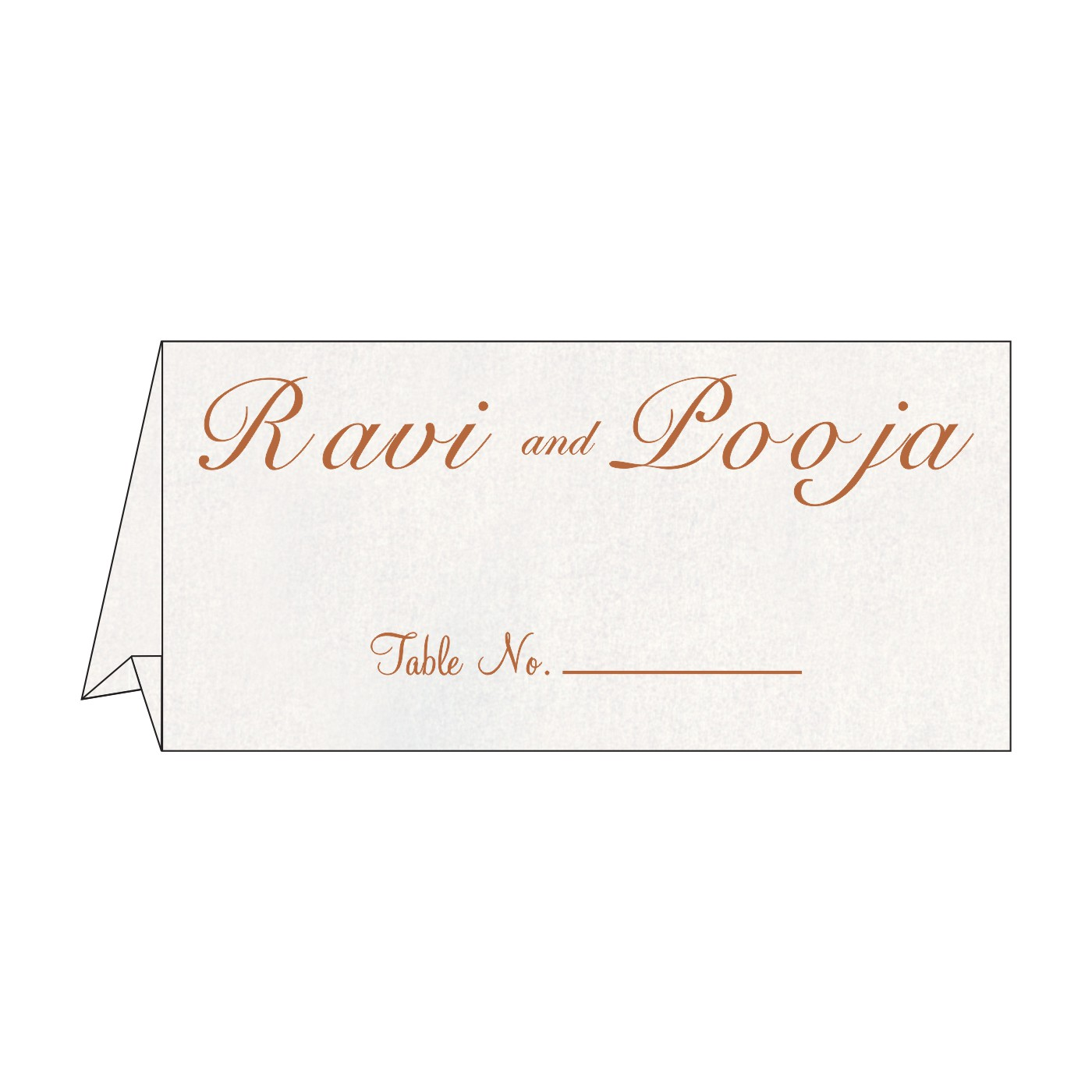 Table Cards : CTC-5012D - IndianWeddingCards