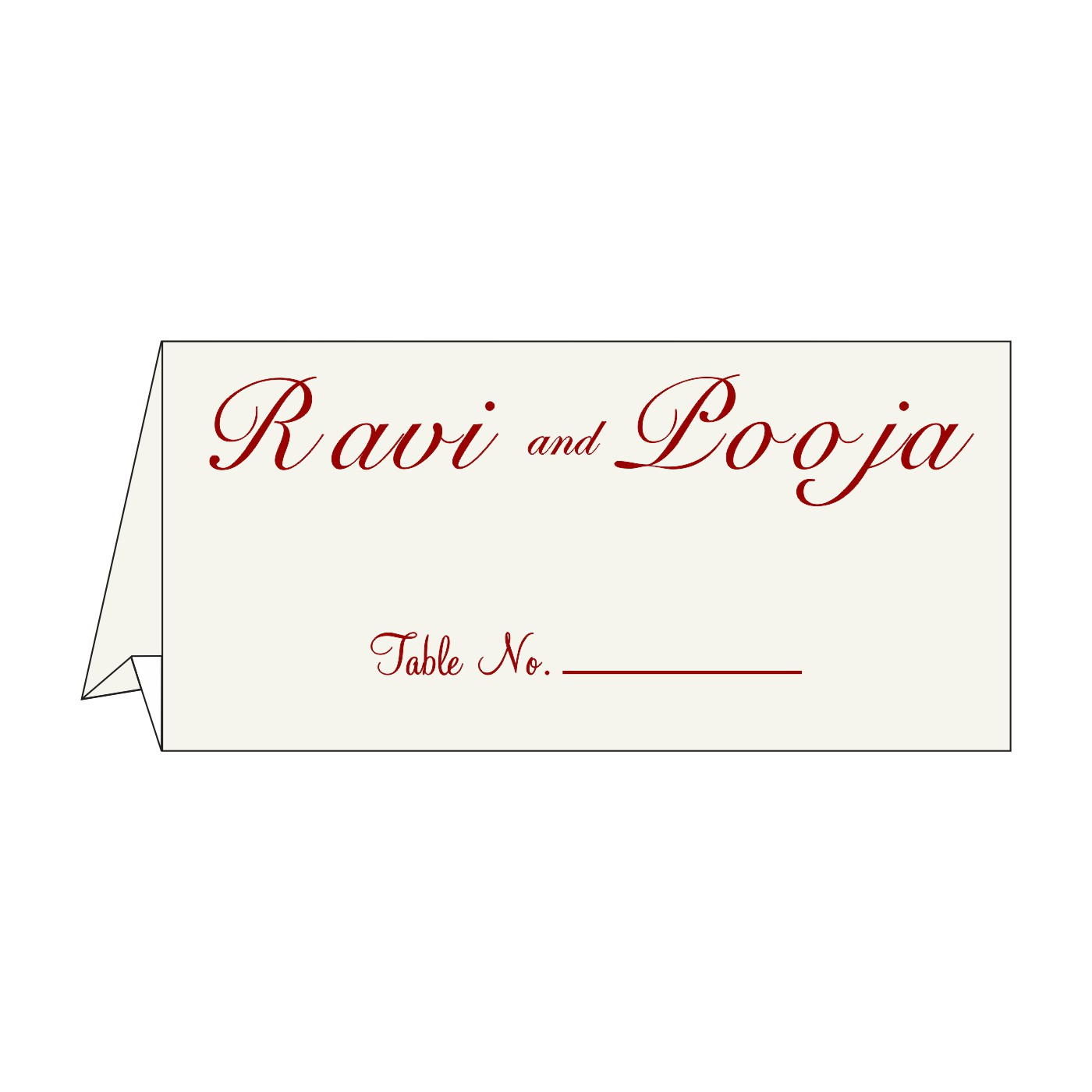 Table Cards : CTC-5015E - IndianWeddingCards
