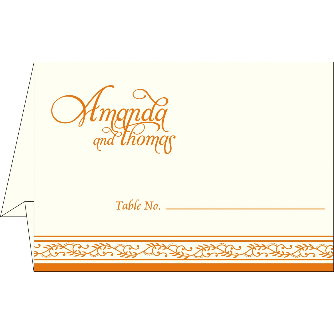 Table Cards : CTC-8202B