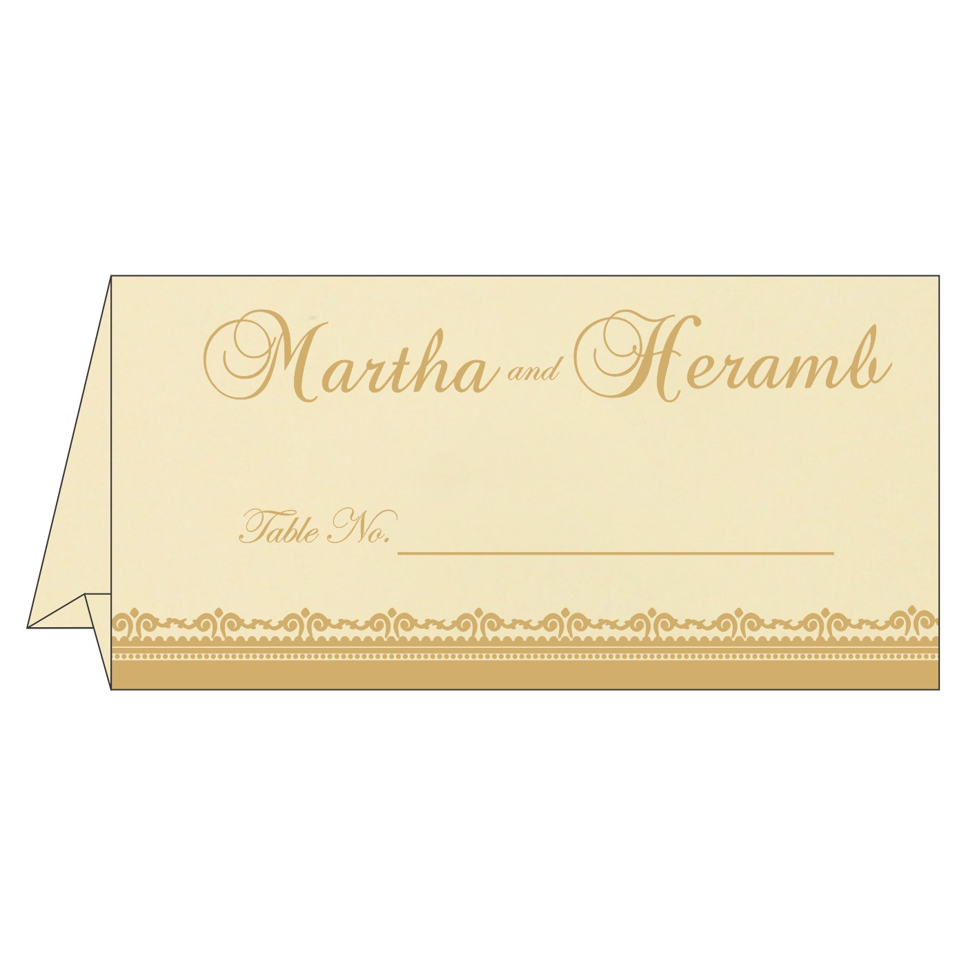 Table Cards : CTC 8205D