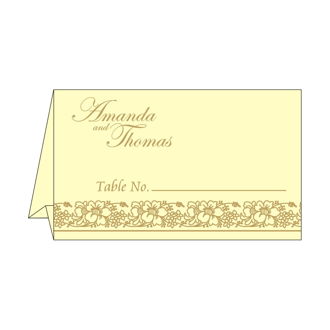 Table Cards : CTC 8207F