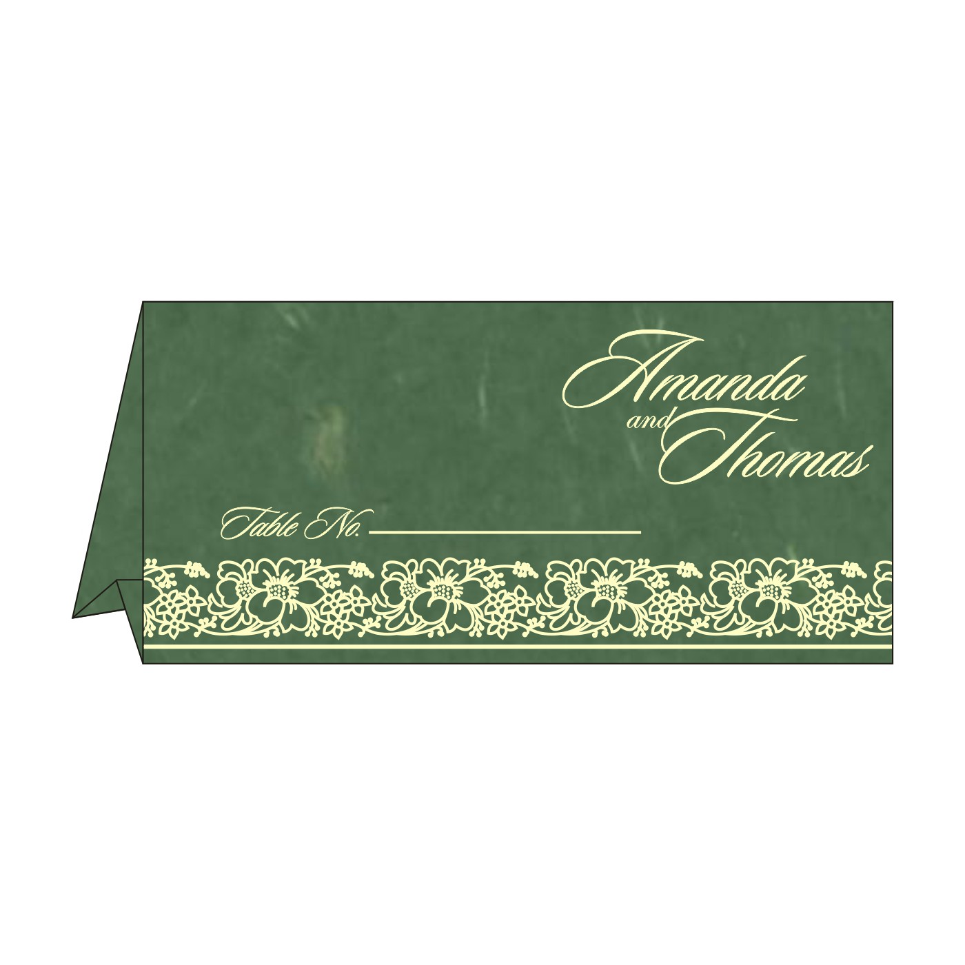 Table Cards : CTC-8207L - IndianWeddingCards