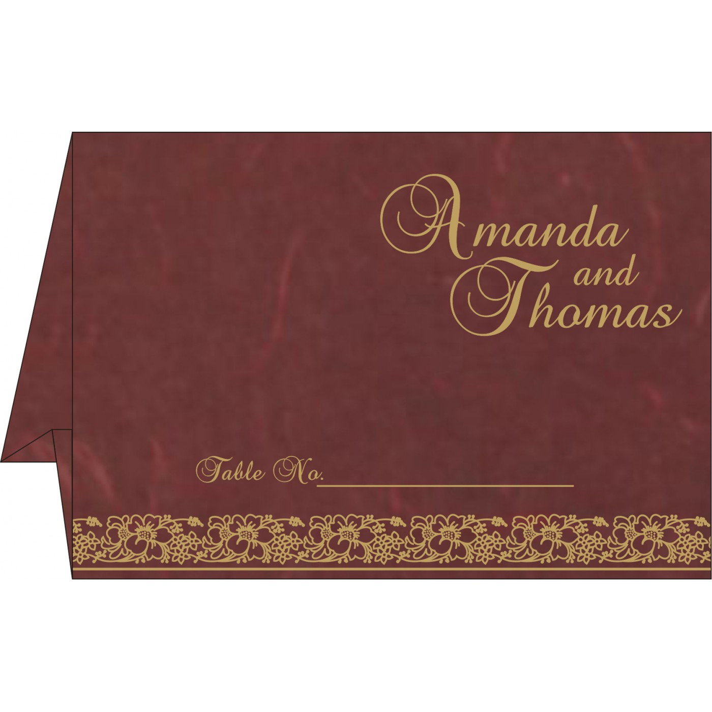 Table Cards : CTC-8207M - IndianWeddingCards