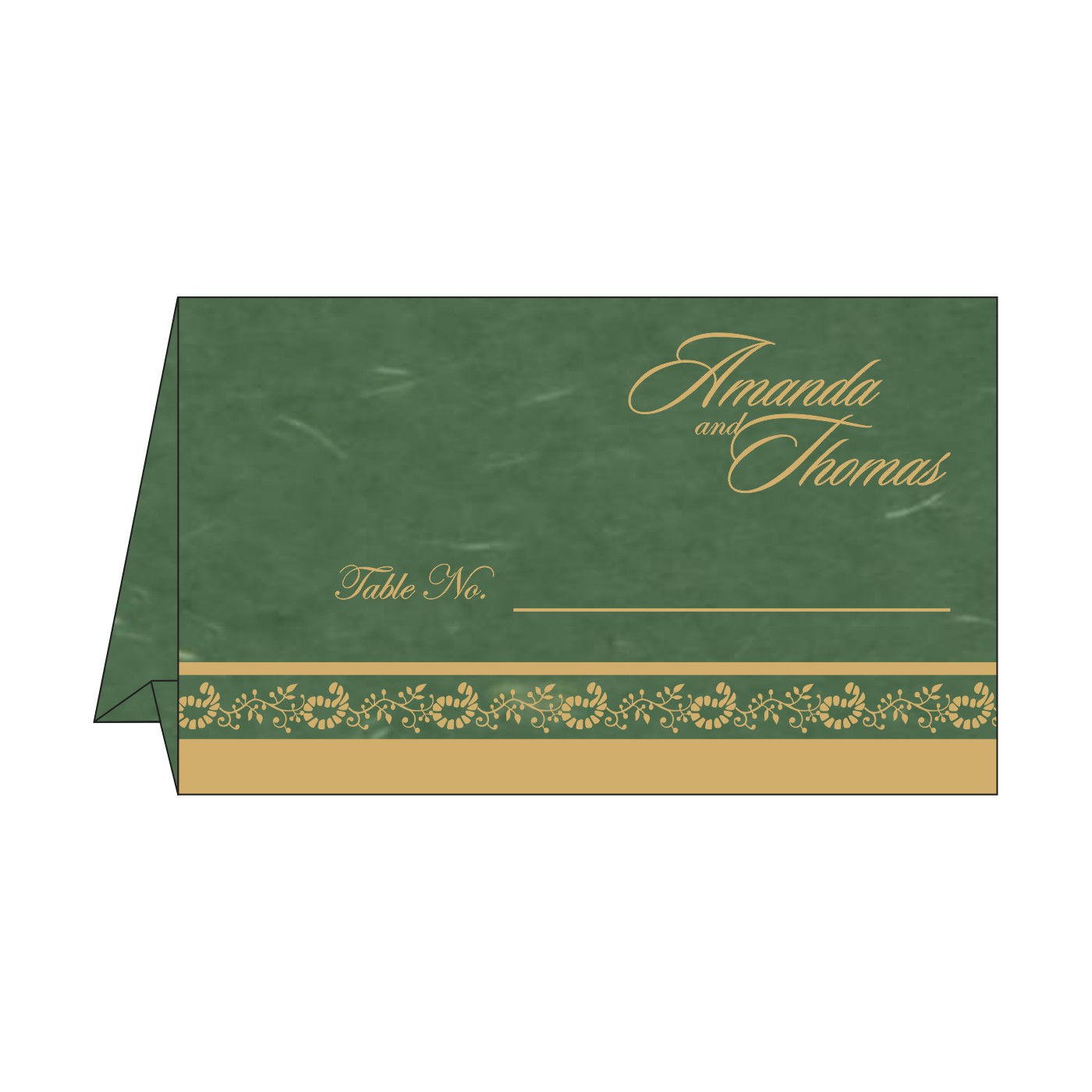 Table Cards : CTC-8208L - IndianWeddingCards