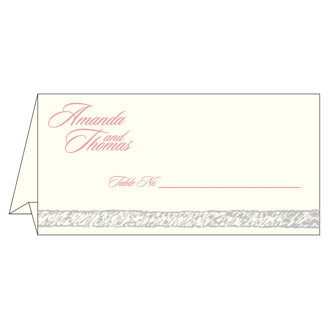 Table Cards : CTC-8209H - IndianWeddingCards
