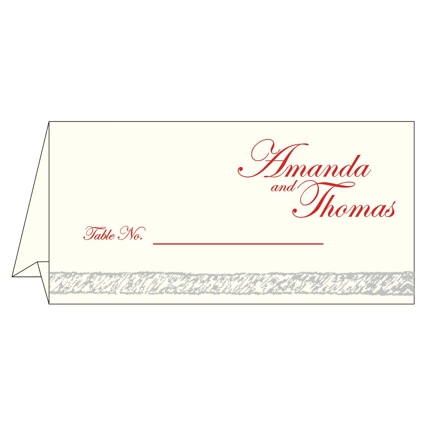 Table Cards : CTC-8209N - IndianWeddingCards