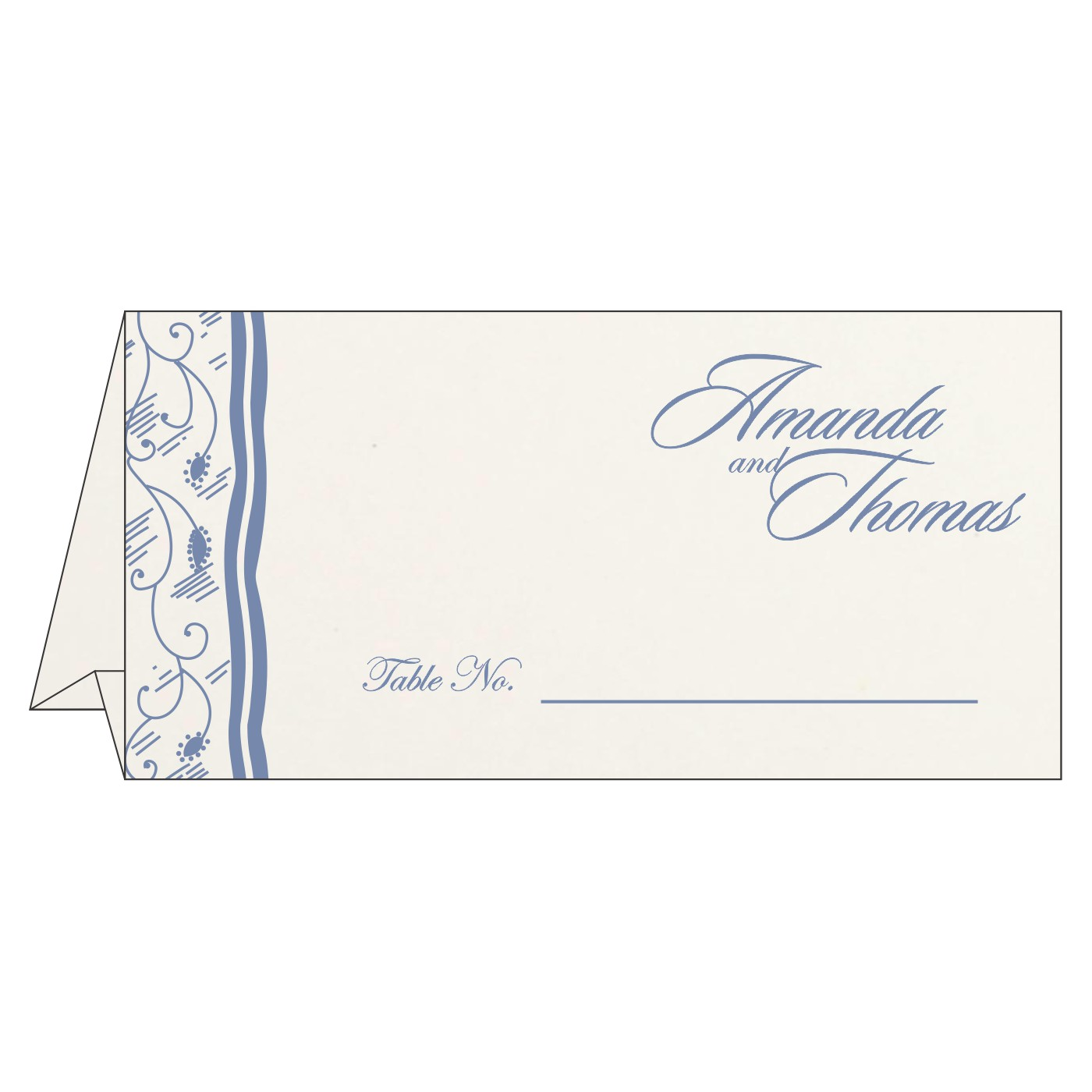 Table Cards : CTC-8210H - IndianWeddingCards