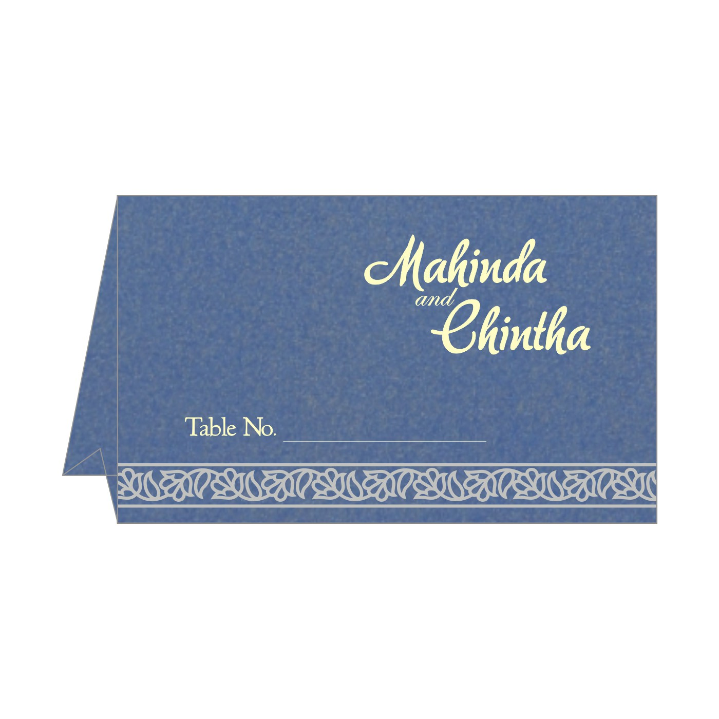 Table Cards : CTC-8211P - IndianWeddingCards
