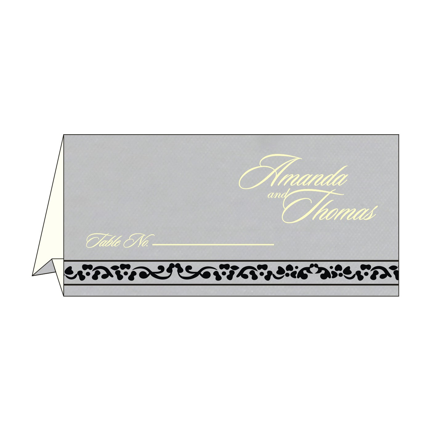Table Cards : CTC-8214N - IndianWeddingCards