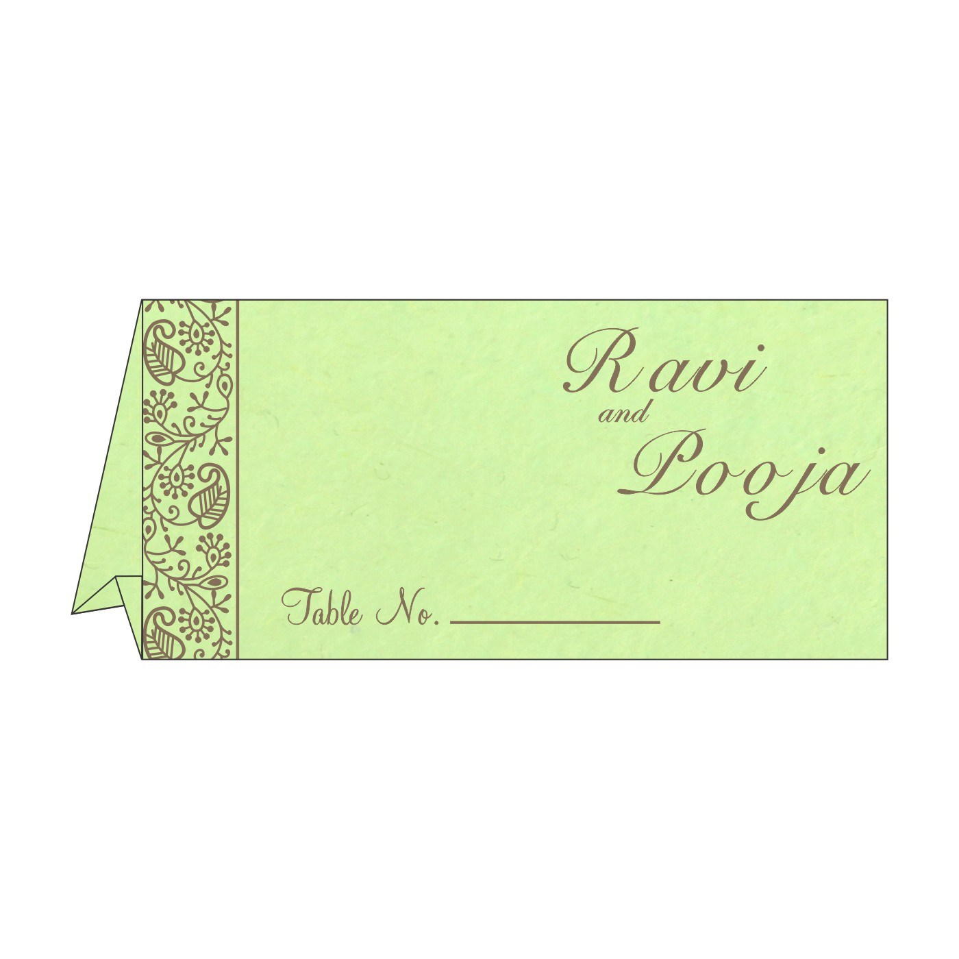 Table Cards : CTC-8215D - IndianWeddingCards