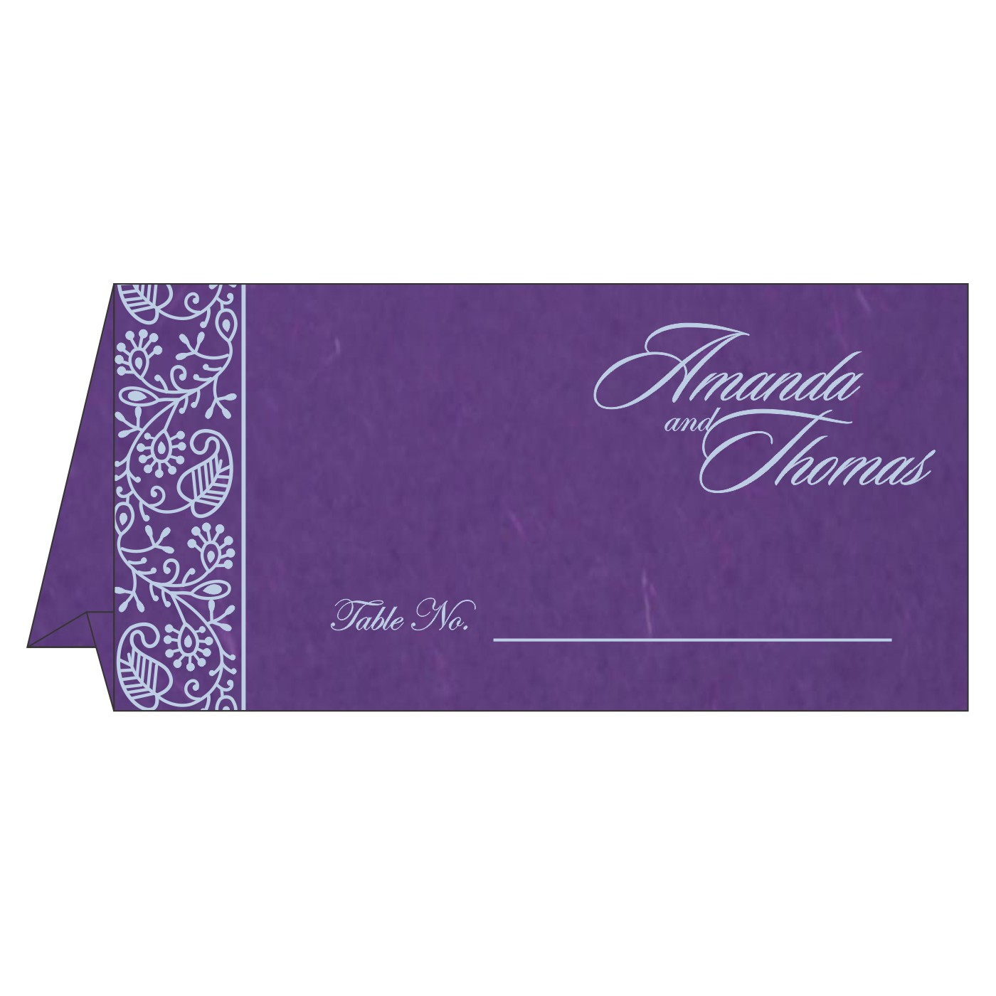 Table Cards : CTC-8215G - IndianWeddingCards