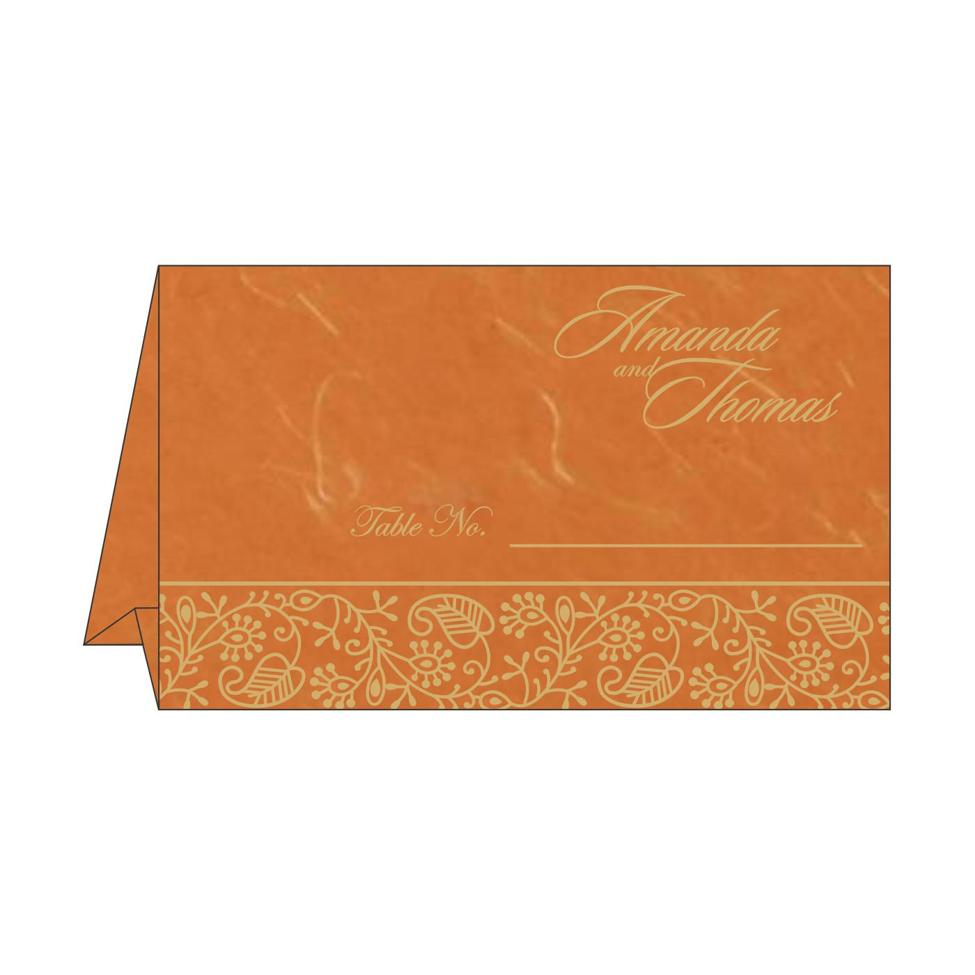 Table Cards : CTC-8215L - IndianWeddingCards